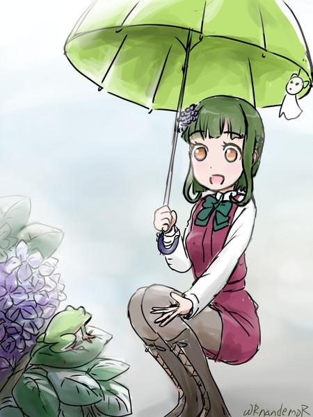 雨の日は静かでいいですね。高波、好きかもです。