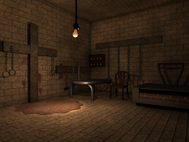 フリー素材 拷問部屋
