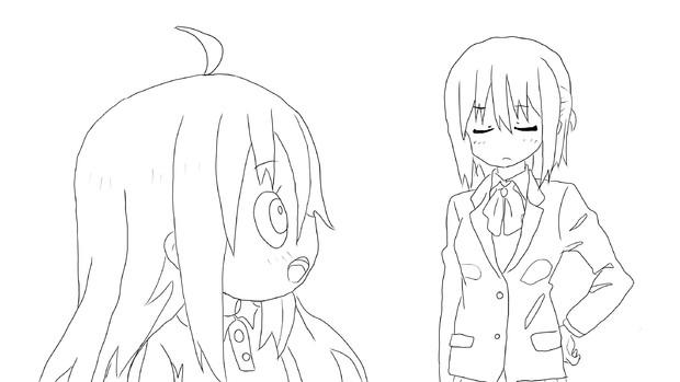 【速写描画】金刚姐妹