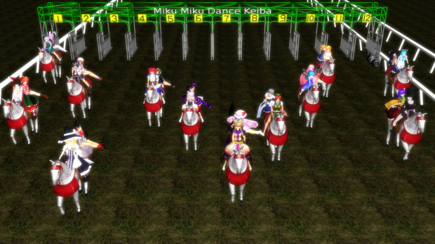 【第12回東方ニコ童祭】もふもふな馬に乗ってカップリングダービースタリオン