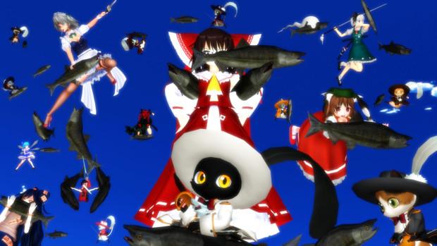 【第12回東方ニコ童祭】鮭だぁーーーーーーーー!