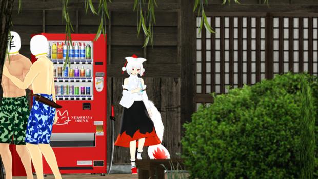 【第12回東方ニコ童祭ED絵】椛ひとやすみ