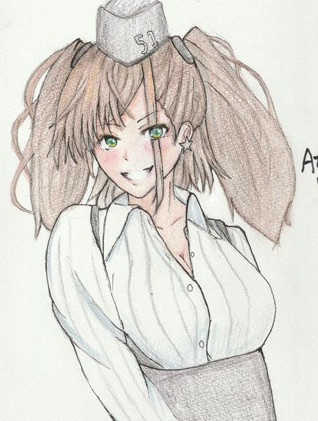 アトランタさんとお絵描き練習4