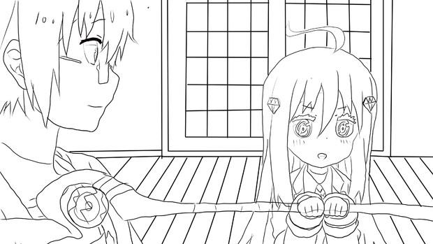 【描画】金刚光:哥哥,做饭(爆破)这种小事就交给我吧
