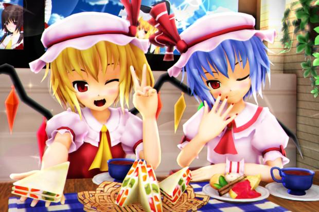 【レミフラ!】サンドイッチたべよ…っ♡