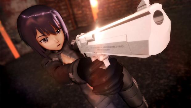 【第5期MMD銃聖戦】美しい女性には大口径銃がよく似合う【三条ともみ】