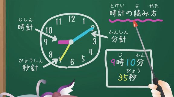けーねのパーフェクト時計のよみかた教室