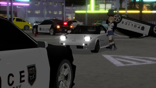 走行不能になった警察車両って…