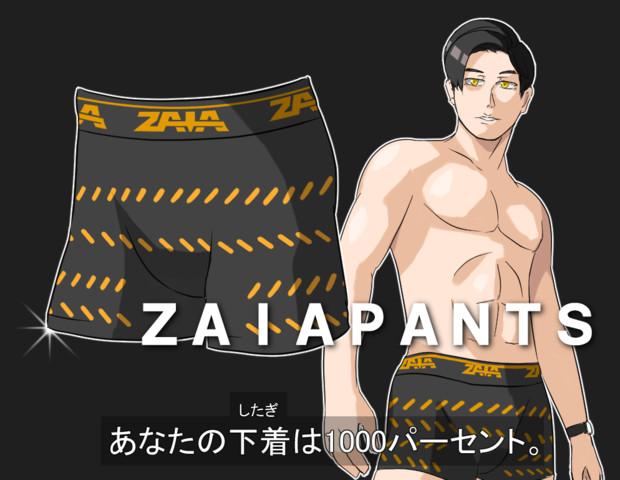 新発売!ZAIAPANTS!