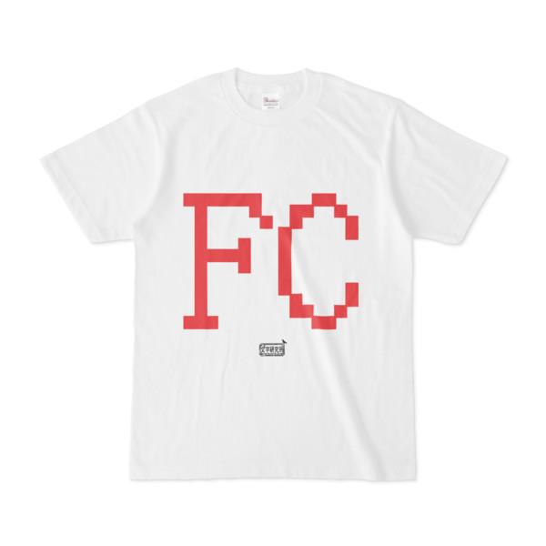 Tシャツ ホワイト 文字研究所 FC