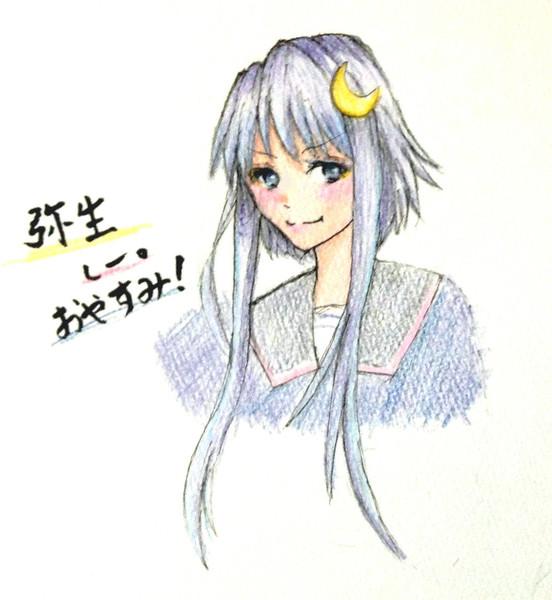 弥生さんとお絵描き練習5
