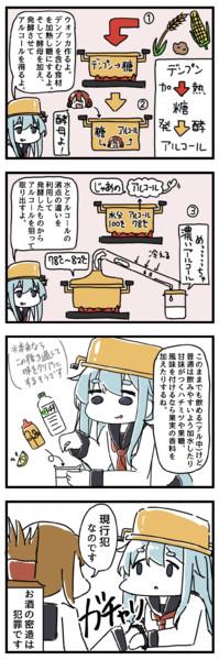酒飲み響と電の漫画⑤