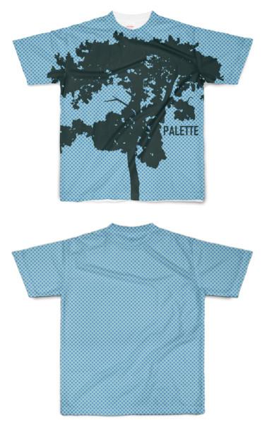 Tシャツ フルグラフィック PALETTE to 木