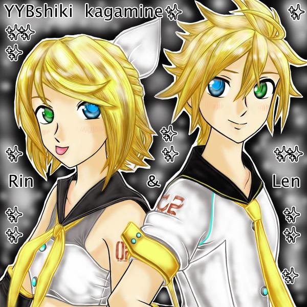 YYBshiki kagamine『Rin&Len』