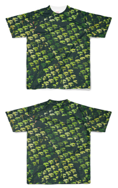Tシャツ フルグラフィック アフリカゲーム