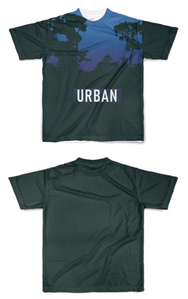 Tシャツ フルグラフィック キャンプは都会