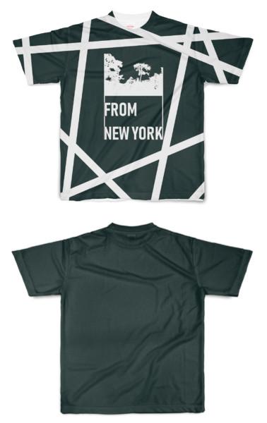Tシャツ フルグラフィック ニューヨークキャンプ