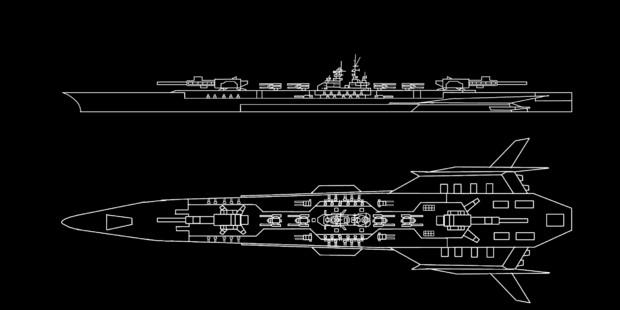 超巨大戦艦 エルメリア