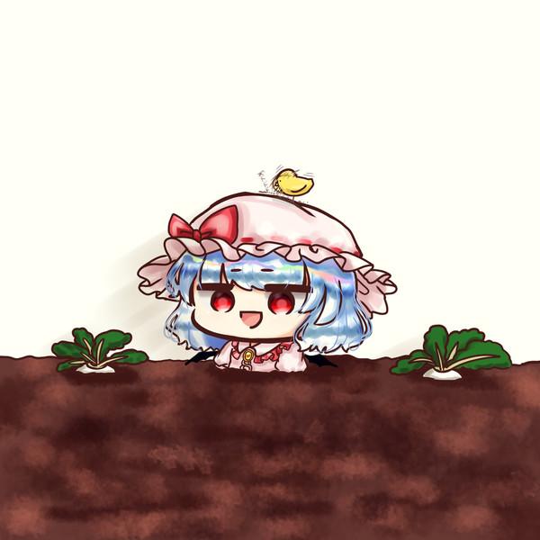 畑に埋められたお嬢様