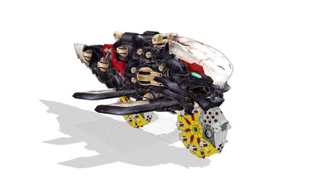 バイク戦艦