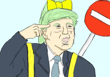 You're fired!!!! 交通整理員から大統領まで上り詰めたdiyusi