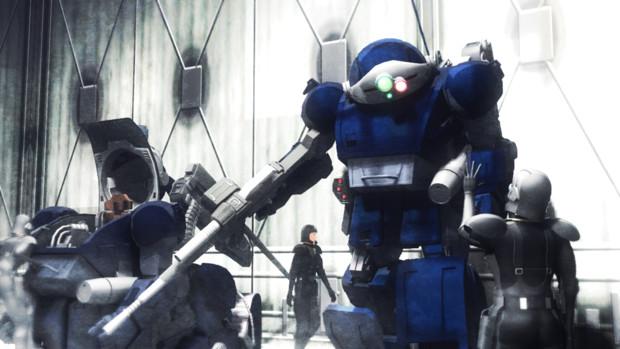 【MMDボトムズ】バーグラリードッグ(黒い稲妻旅団機)【ボトムズMMDファイルズ2020】