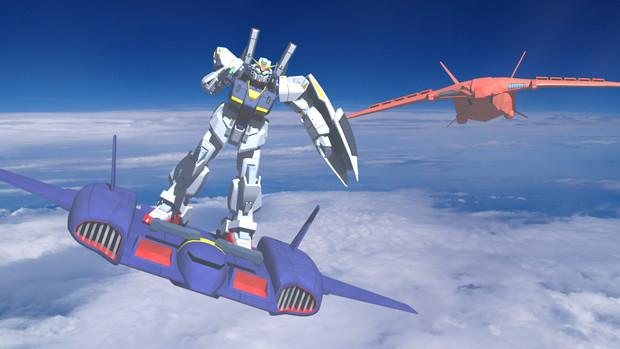 ドダイ改とマークII 巨人機アウドムラ