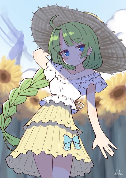 向日葵と夕雲ちゃん