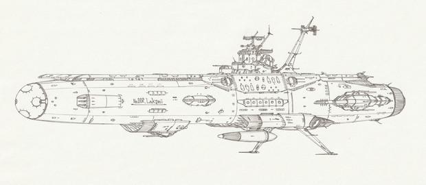 宇宙航空母艦ラクシュミー「自作艦」