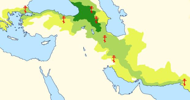 グルジアの拡大