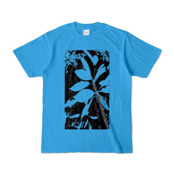 Tシャツ ターコイズ Origin_Leaf