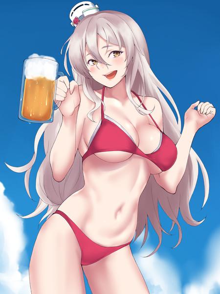 ビールのキャンギャルPola