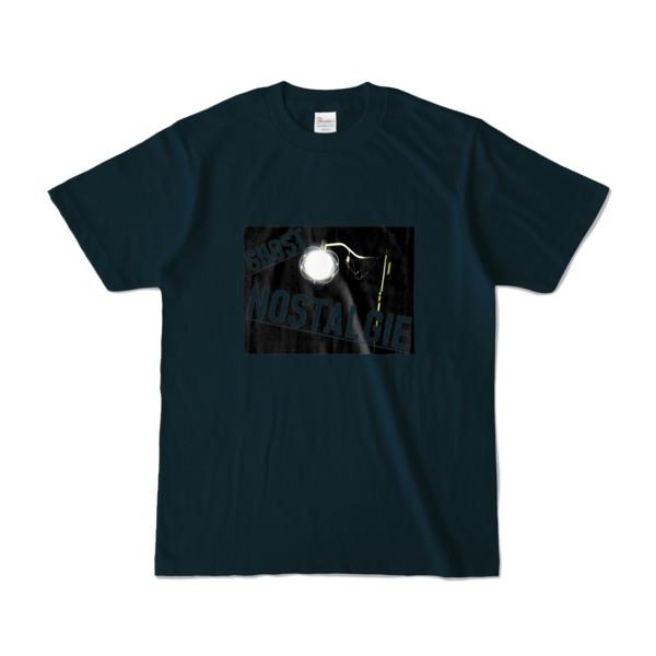 Tシャツ ネイビー GHOST_NOSTALGIE