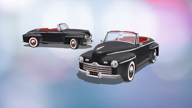 1947年式フォード・コンパーチブルを作ってみました