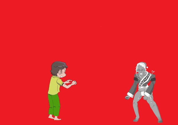 つかみダッシュ→リフトアップ→ボディスラムの順に技を決めていくISAMA兄貴.GIF
