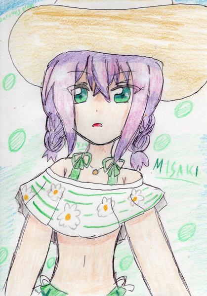 ミサキさんの夏。