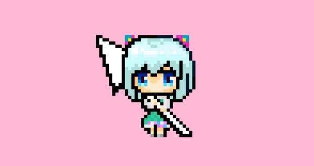 電脳少女シロ(FAVRIC衣装)マウスポインタ