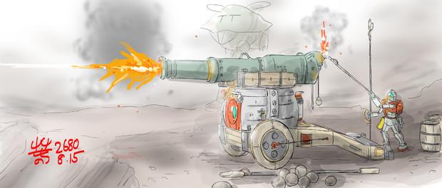 全般支援用砲撃型MS「ドラゴンガンボールスーパー」