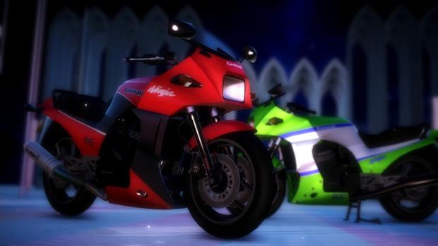 MMD Gpz900R Ninja