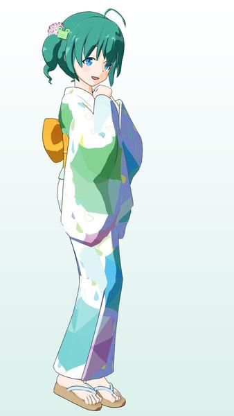 雨歌エル(浴衣衣装)