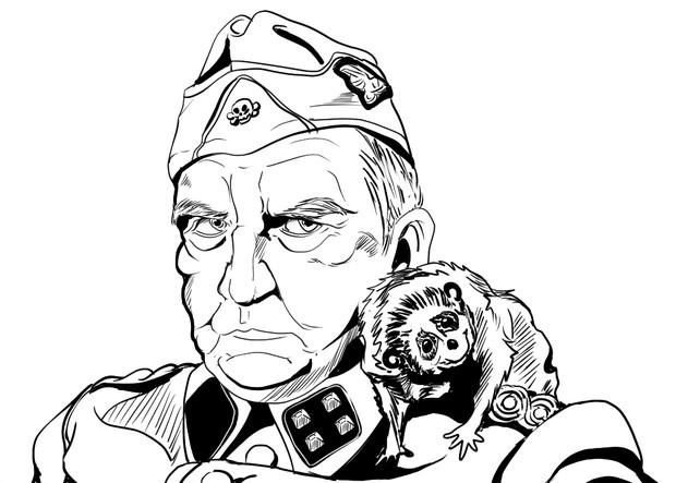 ホモと見る戦争映画~炎628よりクッソ汚い淫獣とクッソ汚いナチの特別行動部隊指揮官おじさん