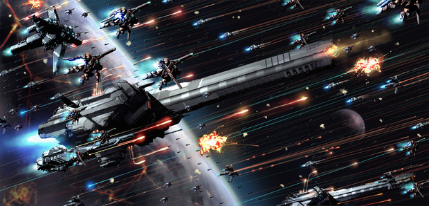 MAL艦隊 vs 銀河連邦所属艦隊