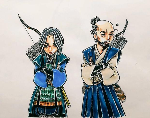 ゴーストオブツシマ_政子&石川先生