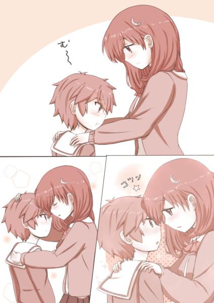 『ほっこりお姉さん と ツンデレ弟』ラクガキ2