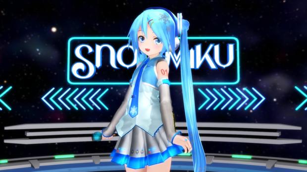 あぴ雪ミク01と言う名の公式もしらないモデル
