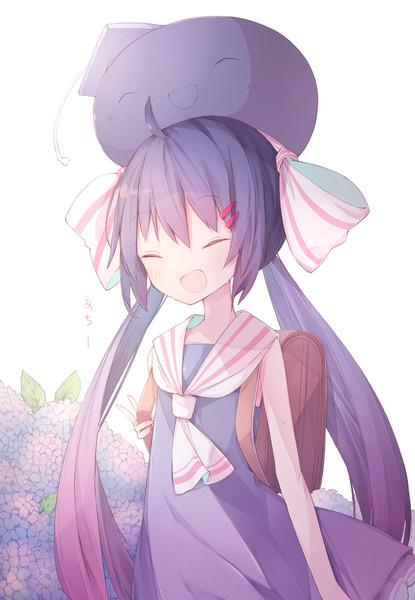 紫陽花ウナちゃん