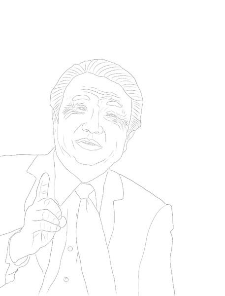 【描画】任正非(3)