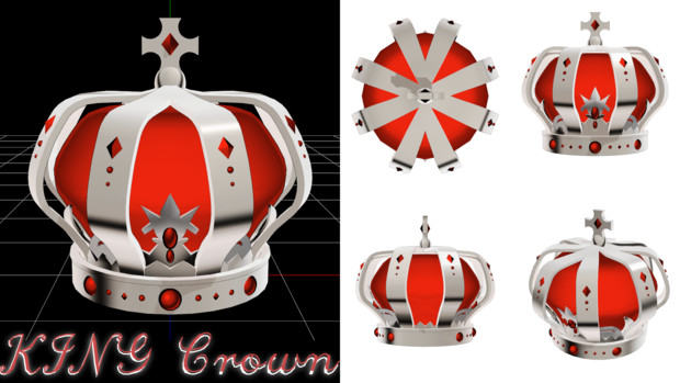 【KING用】キング クラウン