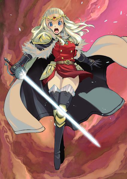 勇者姫アンルシア。