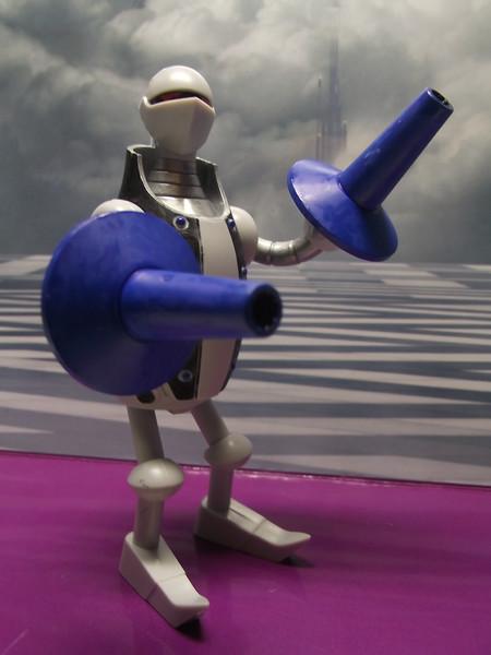 大砲ロボット